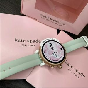 Kate Spade New York Sport Smartwatch - Pink Silicone 42mm - new in box